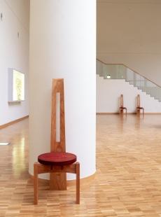 """「後志合同庁舎の椅子""""I・back chair""""」 1996年"""
