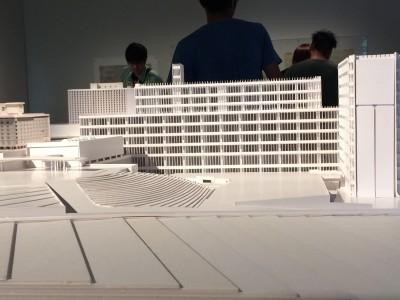 「千代田生命本社ビル」(1966)模型