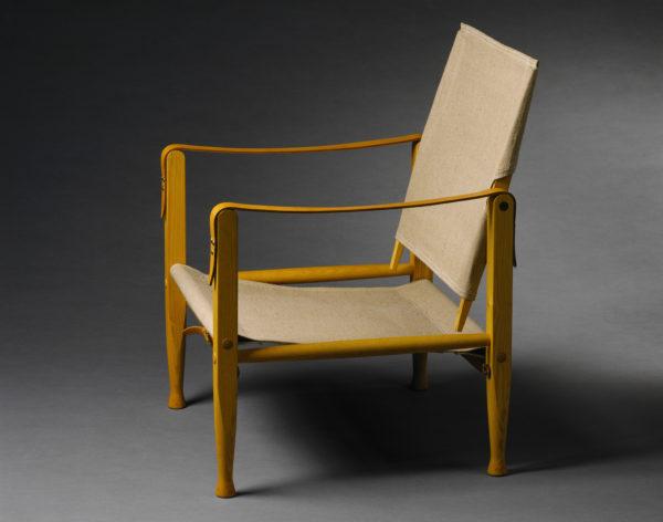 コーオ・クリント《サファリチェア》1933年 デンマーク・デザイン博物館 photo : Designmuseum Danmark / Pernille Klemp