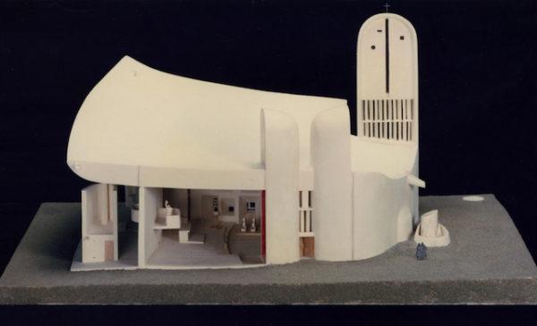 《ロンシャンの礼拝堂》建築模型