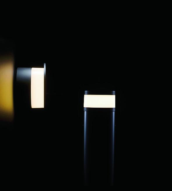 外構の照明をトータルコーディネート