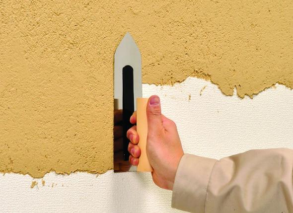 ビニルクロスの上にも塗布できるリフォーム対応仕上げ材