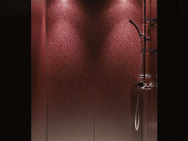 光と陰影をデザインパナソニックのユニットシャワー