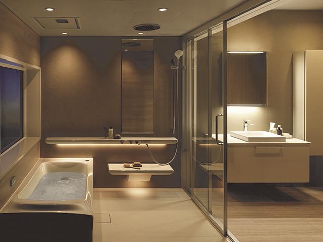 究極のリラックス&リフレッシュ システムバスルーム