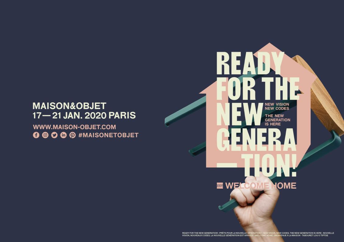 メゾン・エ・オブジェ ・パリ 2020年1月展