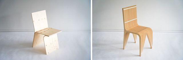 隈 研吾デザイン×東川町家具事業所の椅子(2021)