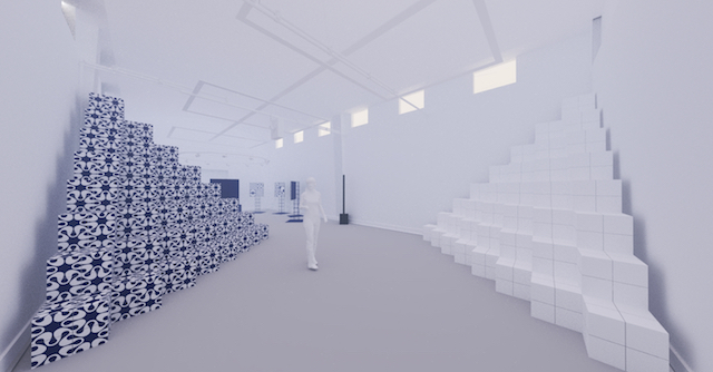 DISCONNECT/CONNECT 【ASAO TOKOLO×NOIZ】幾何学紋様の律動、タイリングの宇宙 Rhythms of Geometric Patterning: A Cosmos of Tiling