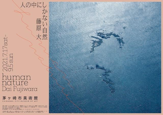 「 human nature Dai Fujiwara 人の中にしかない自然 藤原大」ポスター